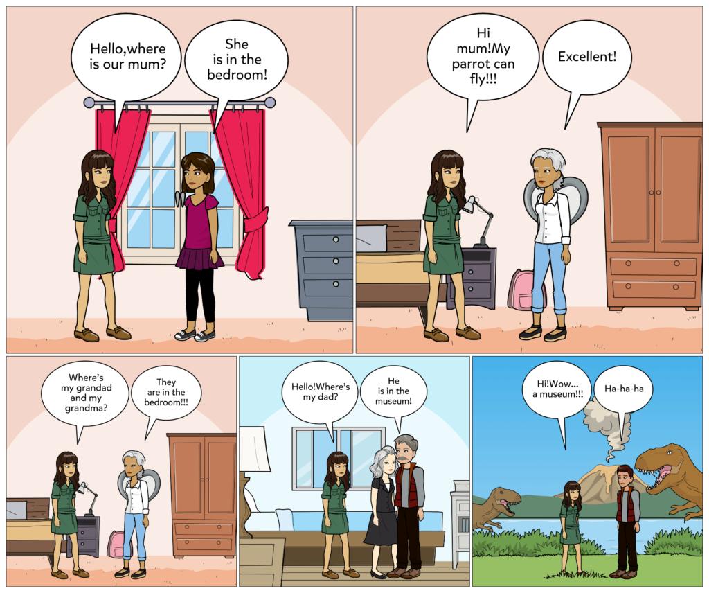 Aristea: The English comic