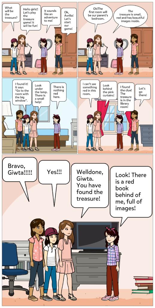Avrilia: The treasure game