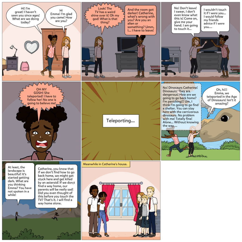 Catherine: My first comic with Conditionals